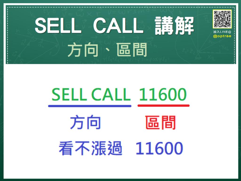 選擇權賣方_選擇權賣方SELL-CALL講解_選擇權方向選擇權區間